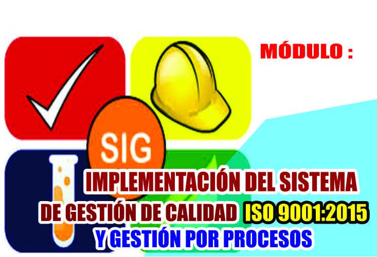 IMPLEMENTACIÓN DEL SISTEMA INTEGRADO DE GESTIÓN DE CALIDAD ISO 9001:2015 Y GESTIÓN POR PROCESOS
