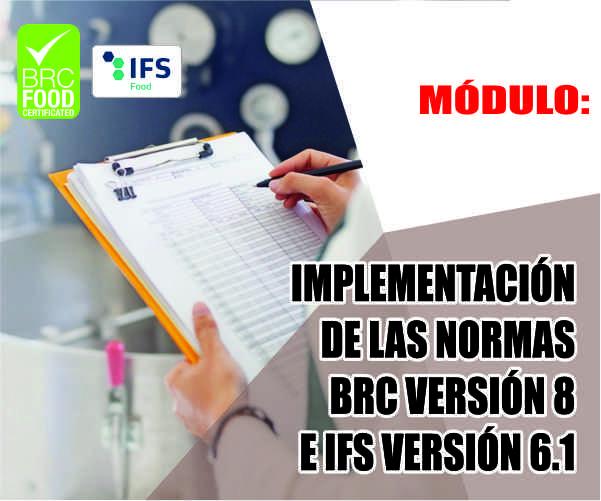 IMPLEMENTACION DE LA NORMA BRC V.8 E IFS