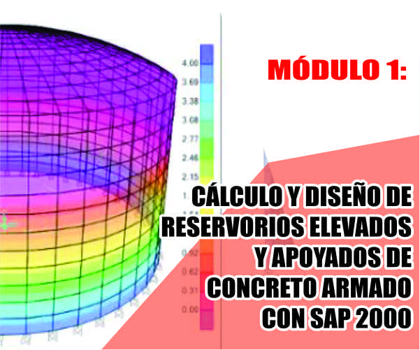 MÓDULO 1: CÁLCULO Y DISEÑO DE RESERVORIOS ELEVADOS Y APOYADOS DE CONCRETO ARMADO CON SAP 2000